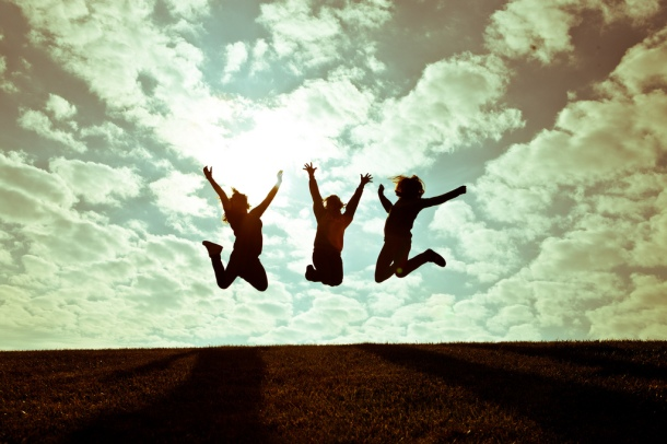 Joyful Girls by charamelody on Flickr