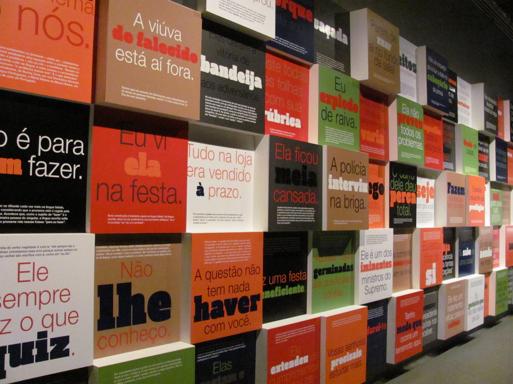 Museu da língua portuguesa by Raquel Camargo on Flickr