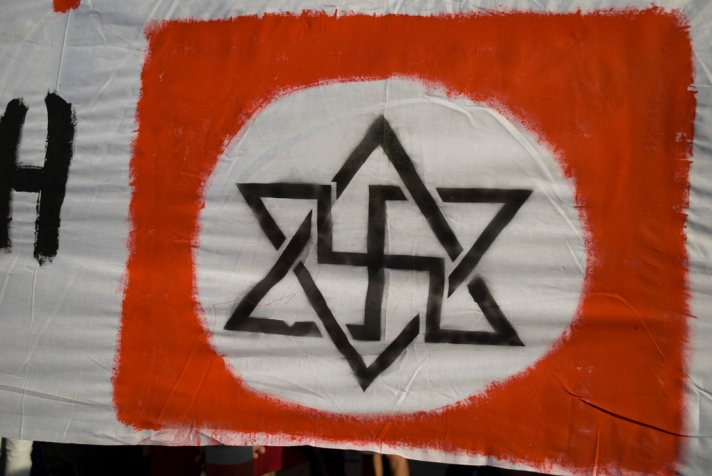 Nazisrael by Andreas Kontokanis on Flickr