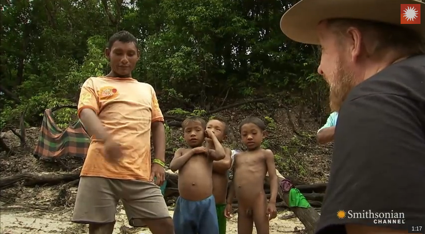 Piraha - A Language without numbers? by Smithsonian Channel