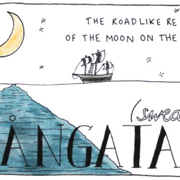 Uma palavra para descrever o reflexo que a lua cria na água