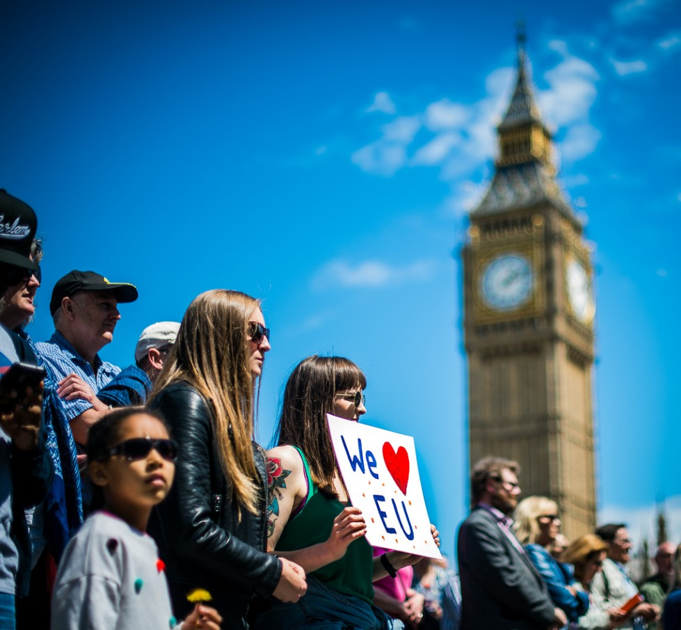 Brexit Protest by Garon S on Flickr
